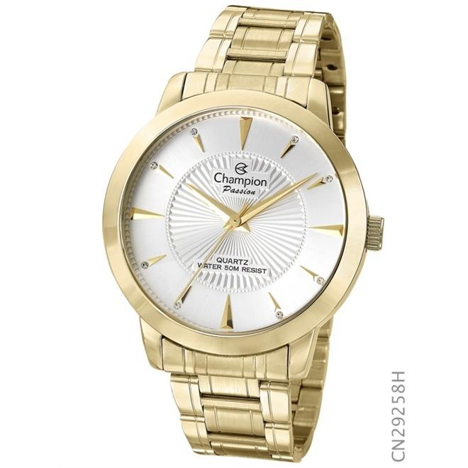 6cbbd95fdcd Relógio Champion Elegance Analógico Feminino Cn26706h - R  218