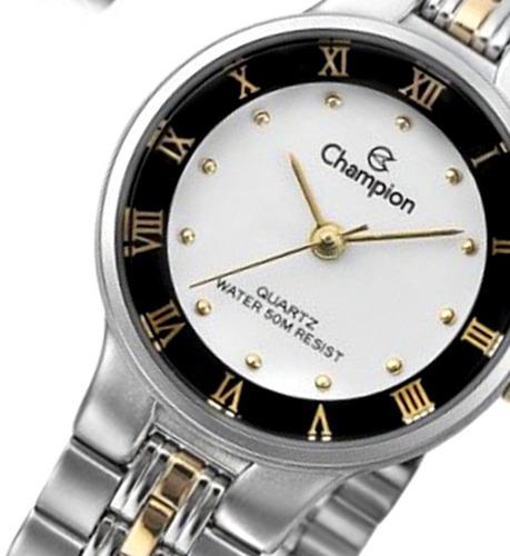 cf07a509238 relógio champion feminino clássico pequeno wr ch27158b. Carregando zoom... relógio  champion feminino
