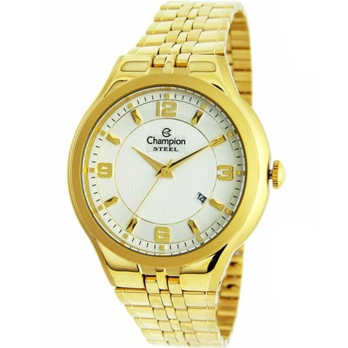 cf89881a758 Relógio Champion Feminino Dourado Ca21633h Original Nf - R  209