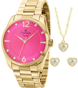 2d499ae0d578 Kit Relógio Champion Feminino Rainbow Cn29909z - Relógios De Pulso ...
