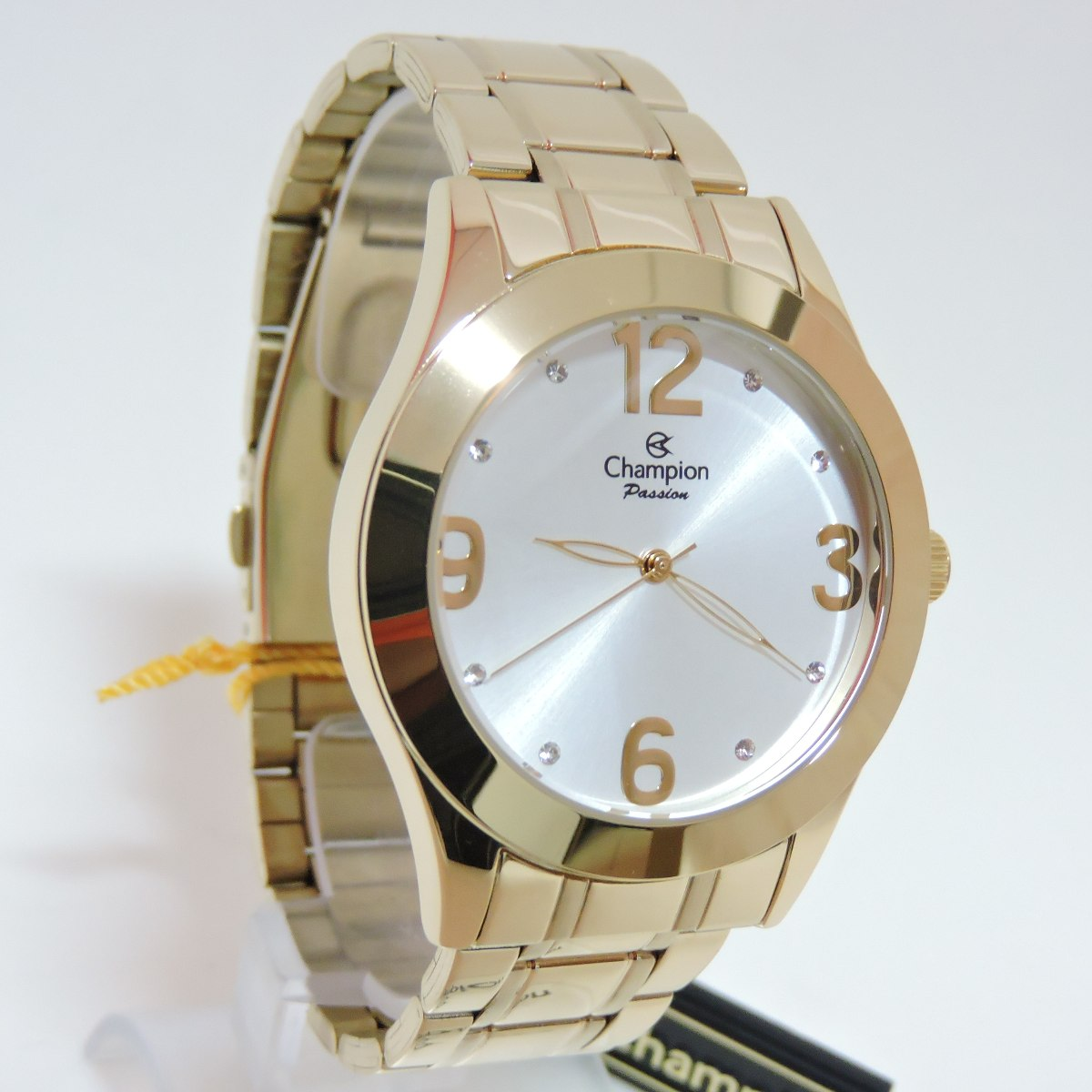 4602421b61e relógio champion feminino passion dourado ch24268h. Carregando zoom.