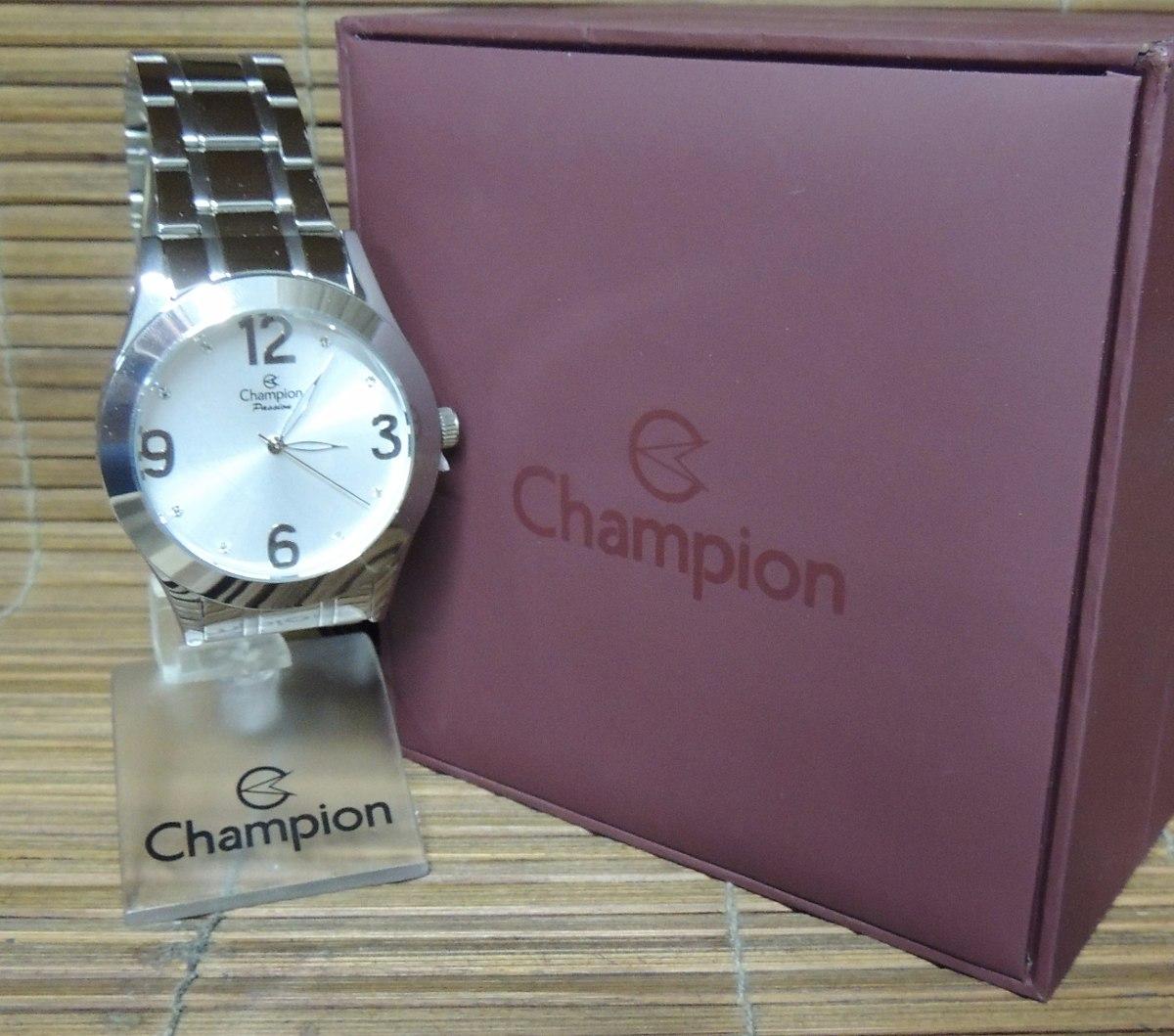 3b943ca3b8a relógio champion feminino passion prata ch24268q nf+garantia. Carregando  zoom.