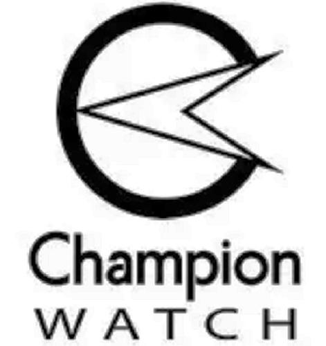 relógio champion feminino retangular em aço ca20063q