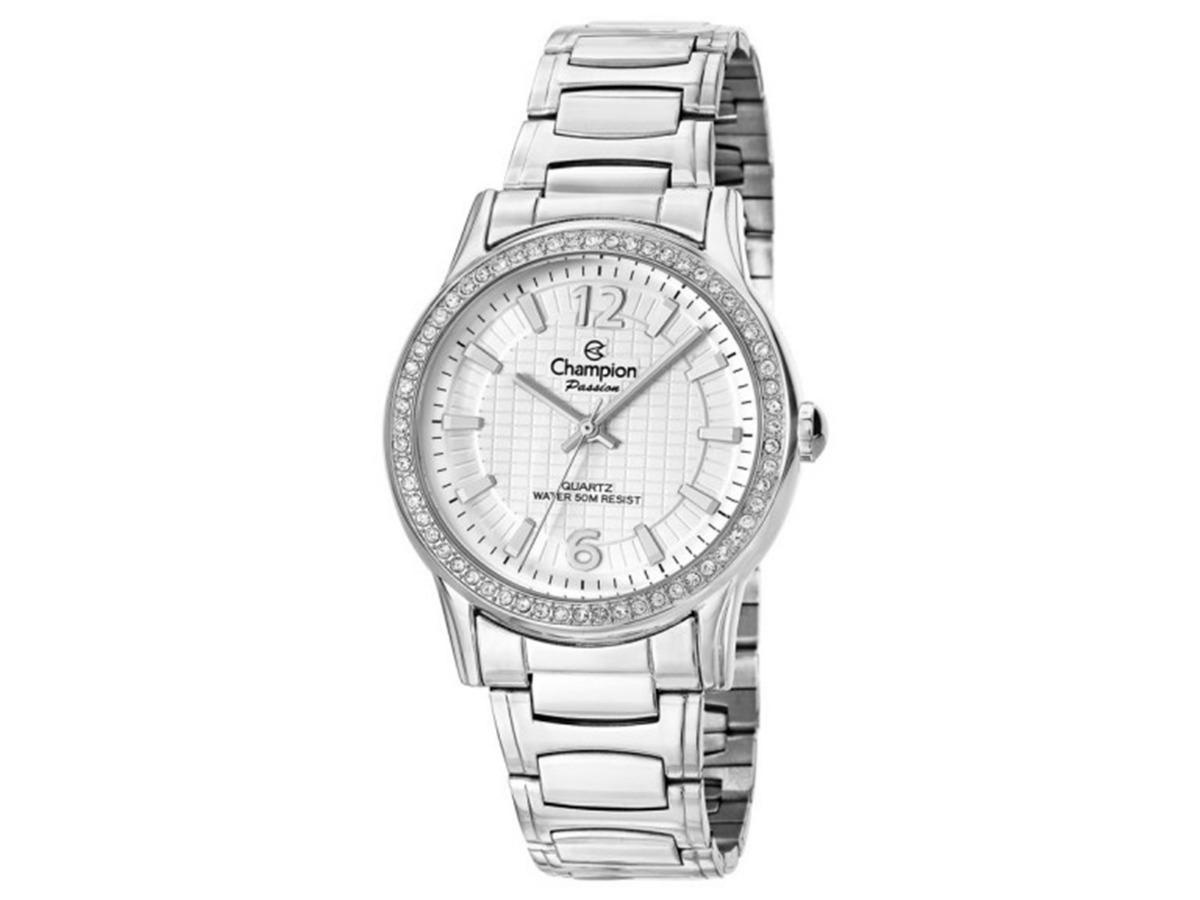 ca6453dc485 relógio champion feminino social prata barato prova cn28839q. Carregando  zoom.