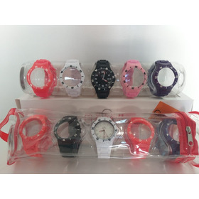 Relógio Champion Kit Troca Pulseiras Cp38086 Original Barato