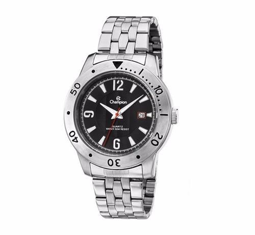 relógio champion masculino ca30169t original