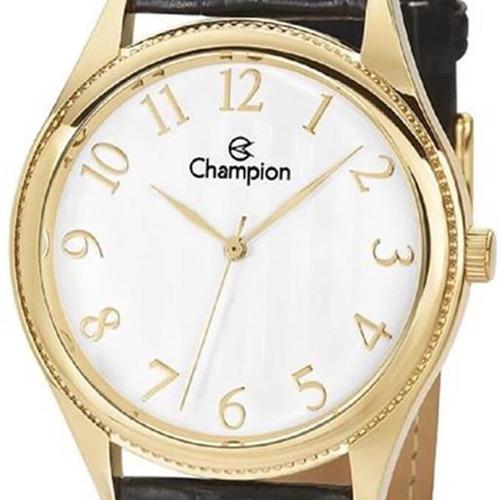 relógio champion masculino ch22788b, c/ garantia e nf