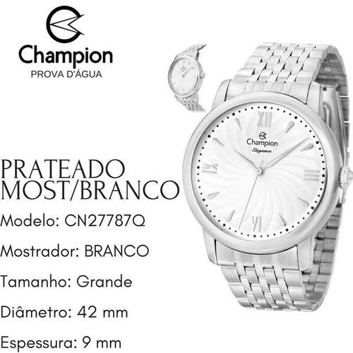 relógio champion masculino feminino cn27787q