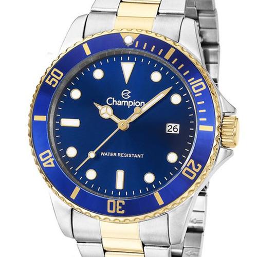 relógio champion original masculino ca31266a bicolor