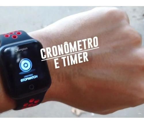 relógio champion smartwatch bluetooth 4.0 original ch50006k