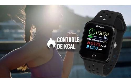 relógio champion smartwatch bluetooth 4.0 original  ch50006w