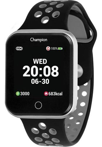 relogio champion smartwatch ch50006c preto original