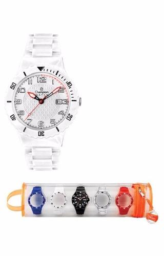 relógio champion troca pulseira cp30119x
