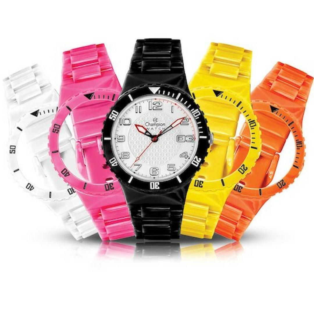 3e9f3565b0c relógio champion troca pulseira masculino feminino cp30182x. Carregando  zoom.