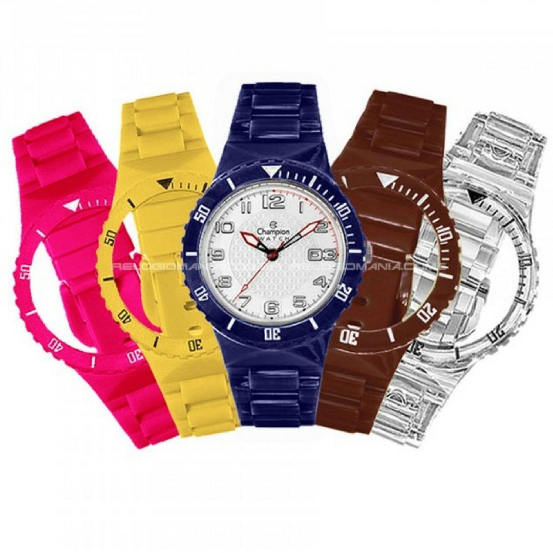 3f22c9119d7 relógio champion troca pulseira masculino feminino cp30182x. Carregando zoom .