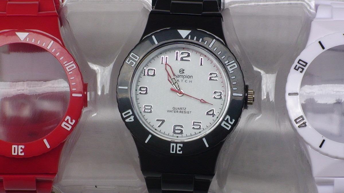 a285e938529 relógio champion troca pulseiras (menor preço do brasil). Carregando zoom.