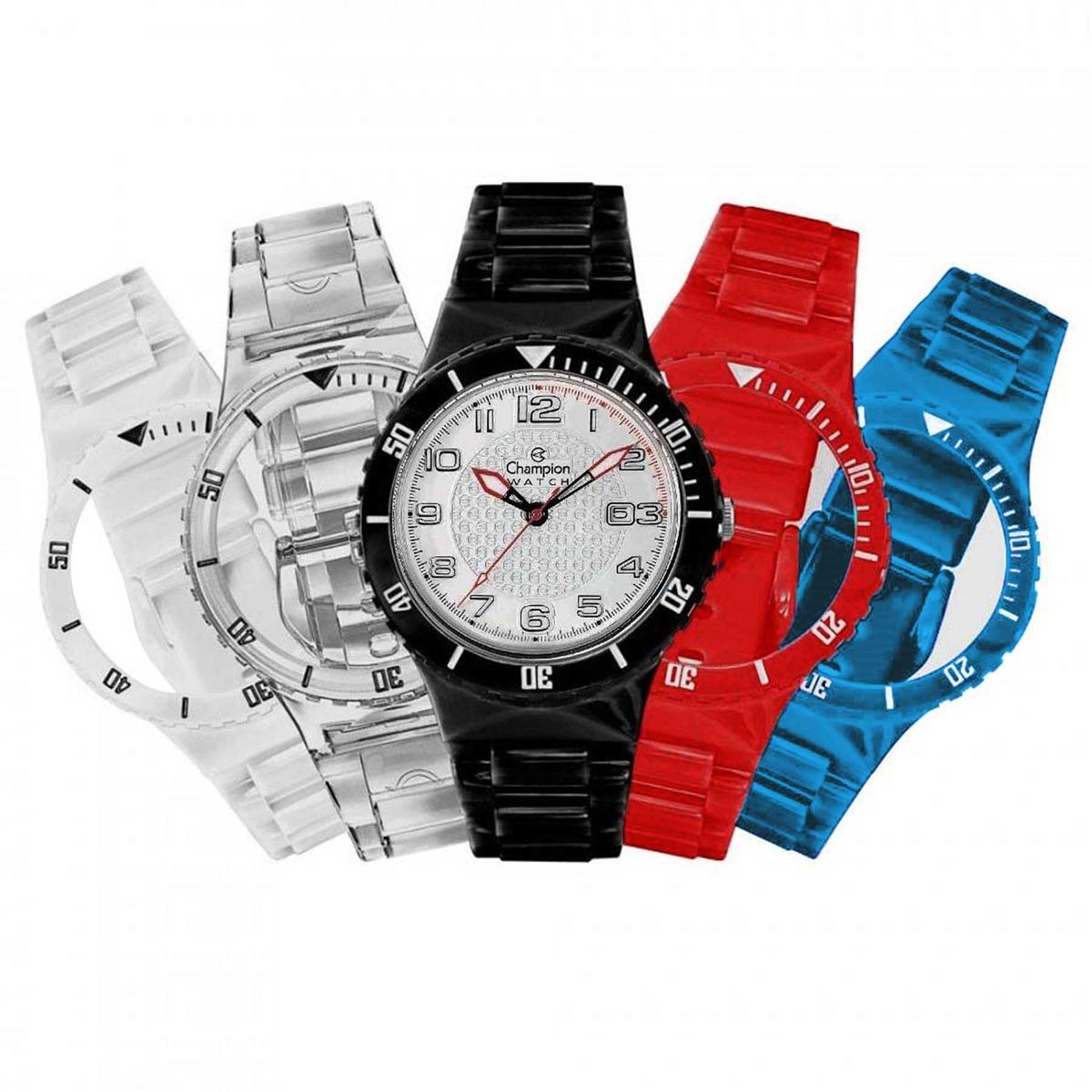 3b8f33cd95b relógio champion troca pulseiras unissex kit com 5 pulseiras. Carregando  zoom.