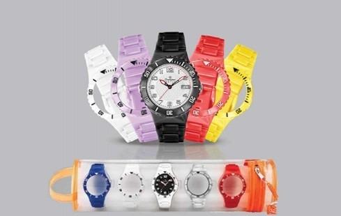 482f364f681 Relógio Champion Watch 5 Pulseiras Com Calendário - R  44