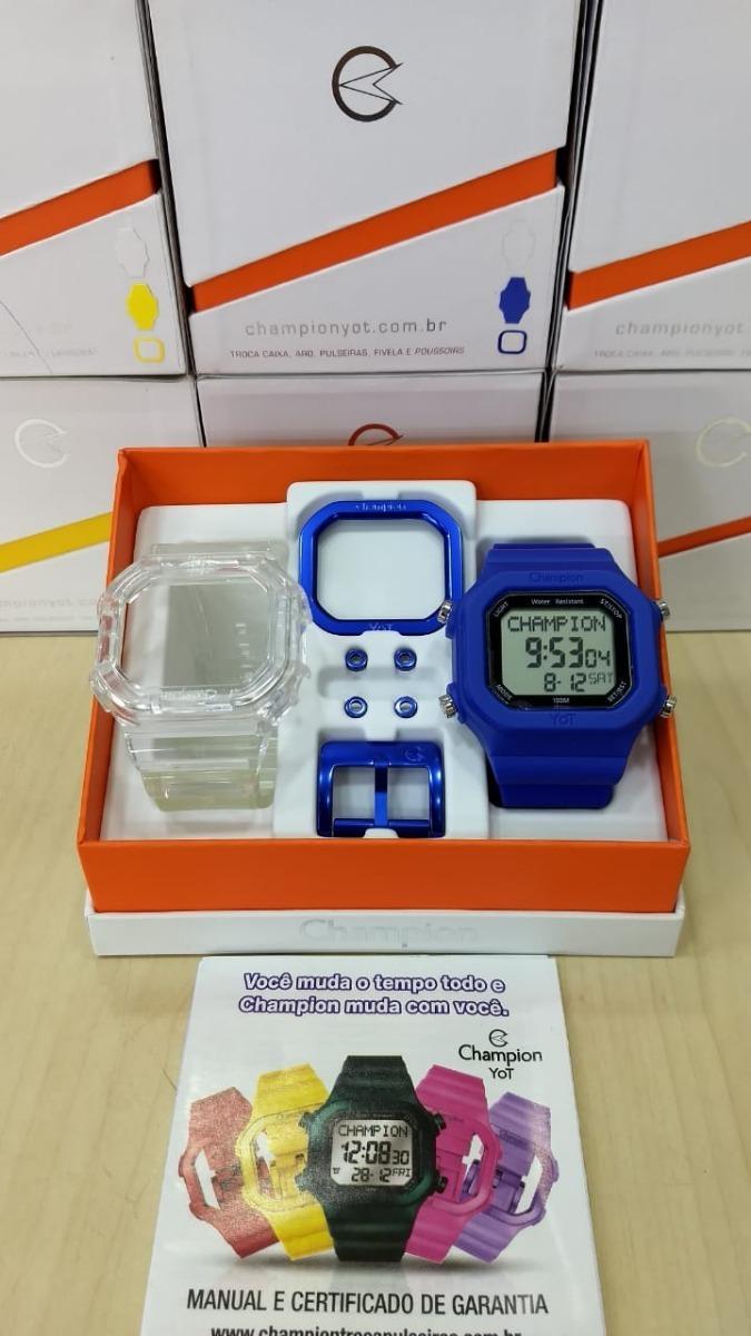 44669c1893f relógio champion yot cp40180x original frete gratis. Carregando zoom.