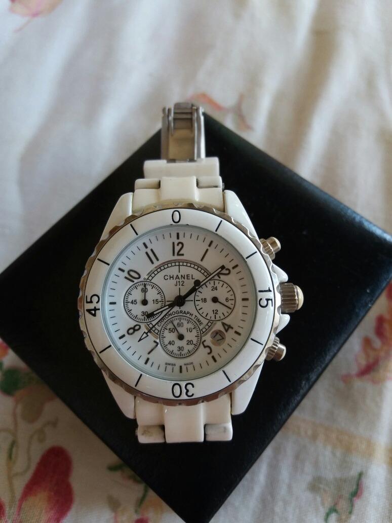 11b77a0c9f6 relógio chanel j12 chronograph original unissex. Carregando zoom.