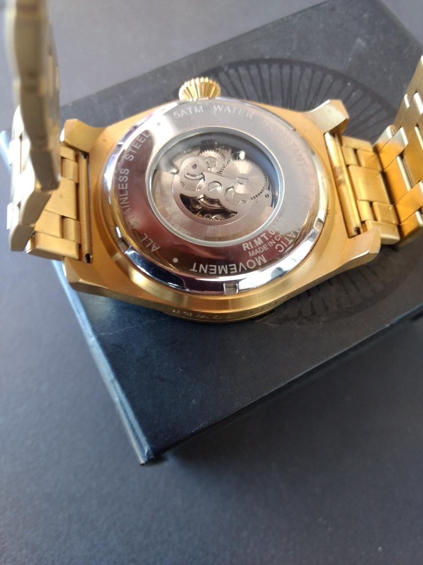 632c1d0e8d6 Relógio Automático Diamante Chilli Beans Original Zerado - R  479