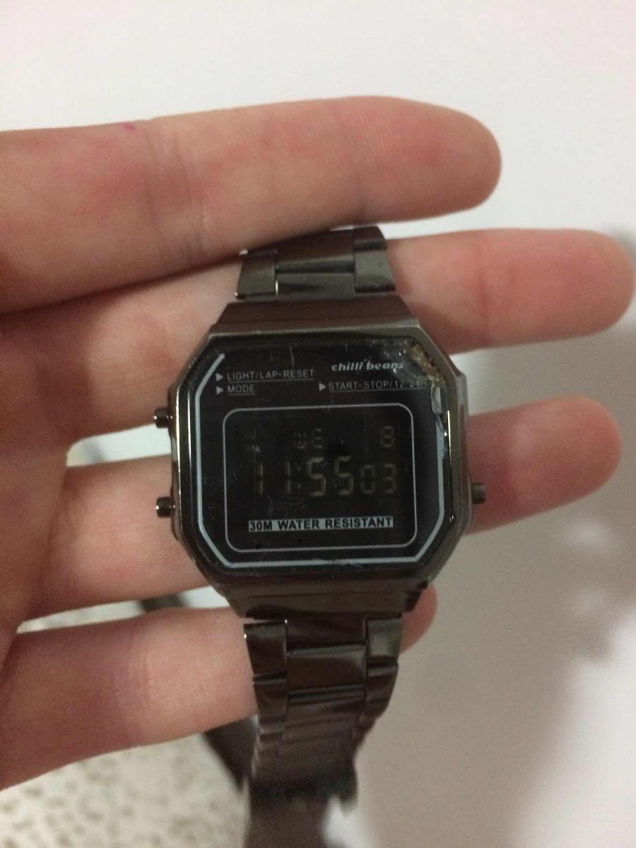 eb87d36df Relógio Chilli Beans Modelo Casio - R$ 169,00 em Mercado Livre