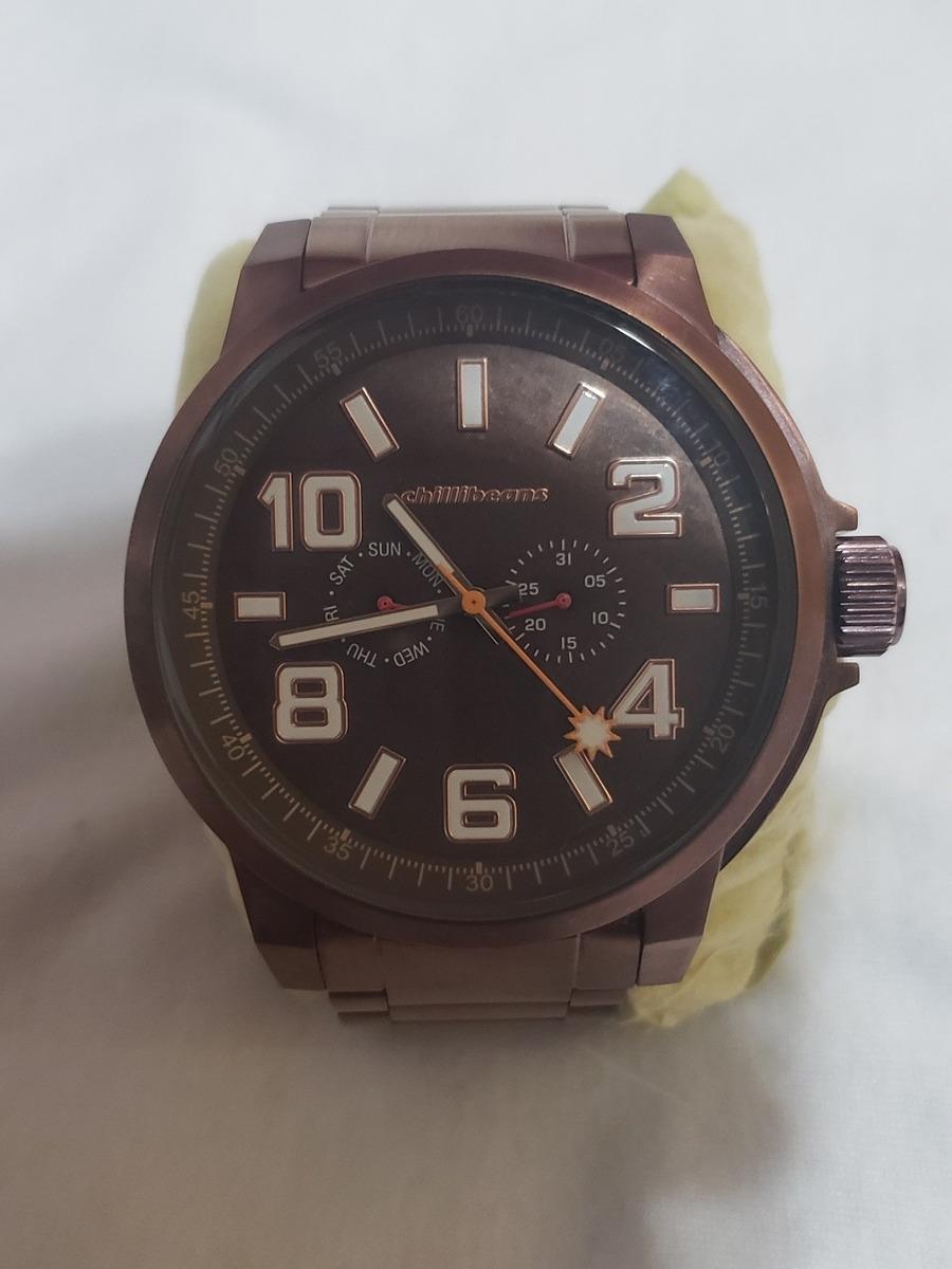 d840c8c77 Relógio Chilli Beans - Mt.0492 - R$ 300,00 em Mercado Livre