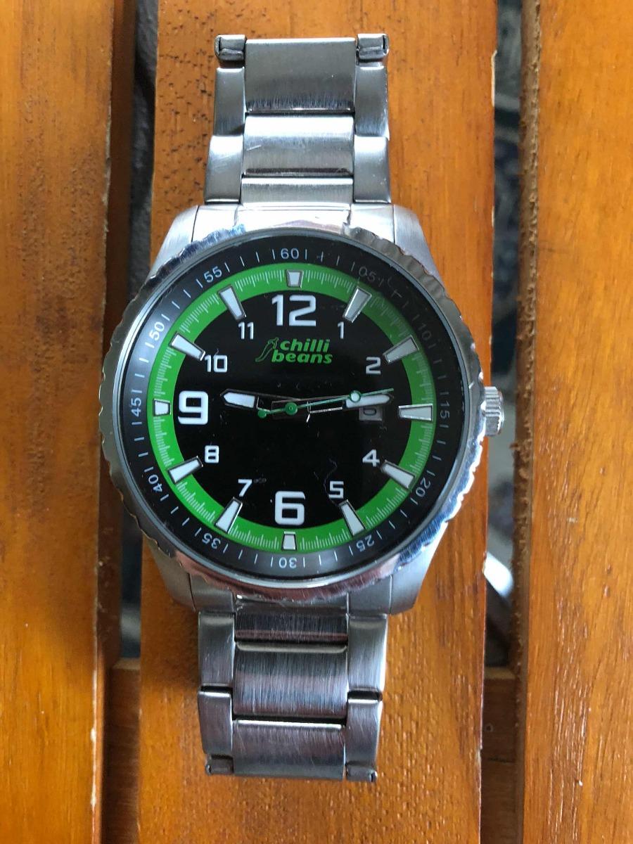 52cd93c7e Relógio Chilli Beans Reaa.0170 Verde De R$479 Por R$249 - R$ 260,00 ...
