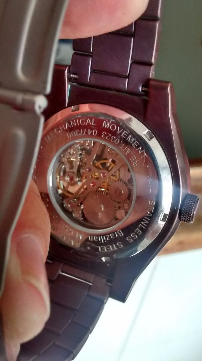 835c4b6b40e relógio chillibeans automático. Carregando zoom.