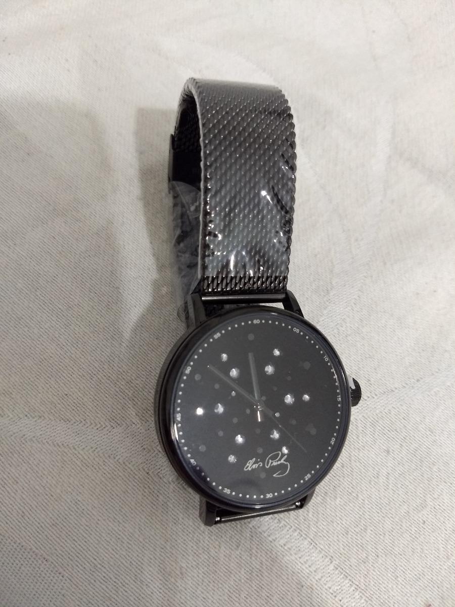 a2127427f Relógio Chillibeans Coleção Elvis Presley Preto Lindo - R$ 299,00 em ...