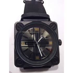 Relógio Chillibeans Quadrado Preto Lindo