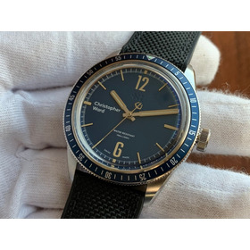 Relógio Christopher Ward C65 Trident Diver Blue Mechanical