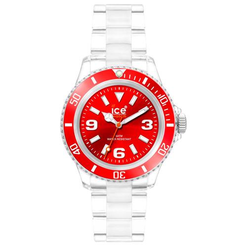 relógio chromatic vermelho médio caixa 43 mm ice-watch