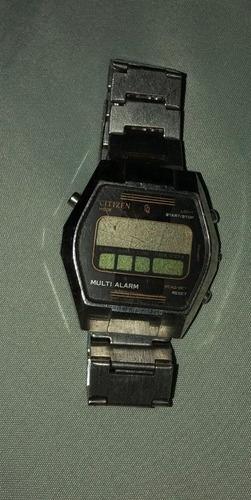 relógio citizen anos 80