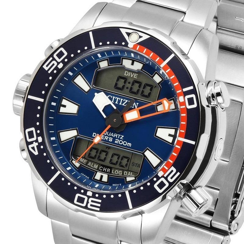 a95d40edb88 Relógio Citizen Aqualand Barato Prova Masculino Aço Tz10164f - R ...