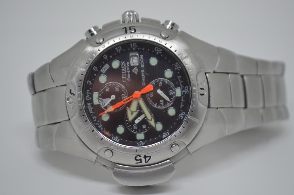 3094b46f228 relógio citizen aqualand eco drive bj2040. Carregando zoom.