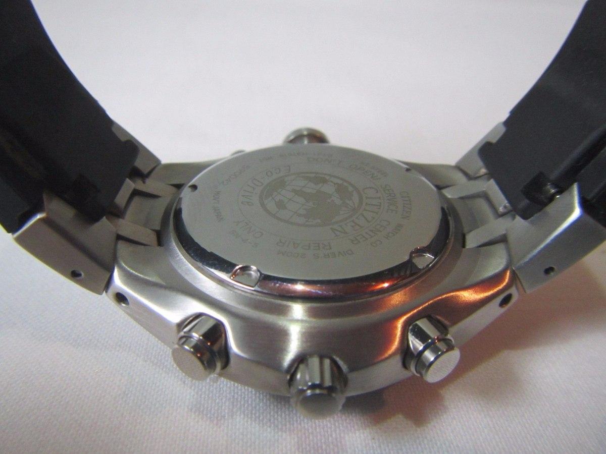 ce9b2371eba relógio citizen aqualand eco-drive bj2050-01e scuba diver. Carregando zoom.
