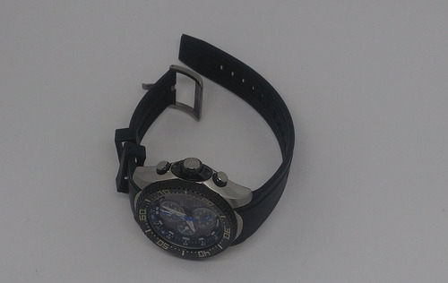 relógio citizen aqualand eco-drive bj2110-01e - seminovo