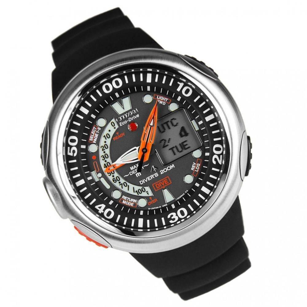c95356130c2 relógio citizen aqualand eco drive jv0000-01e na caixa. Carregando zoom.