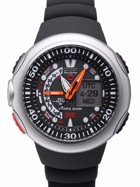 170e461f80c Relógio Citizen Aqualand Eco Drive Jv0000-01e Na Caixa - R  2.149 ...