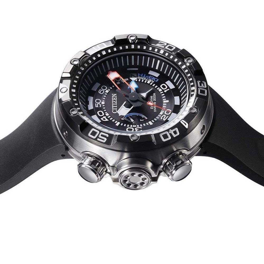 2b0e0d2a1e1 relógio citizen aqualand eco drive marine tz30633n. Carregando zoom.
