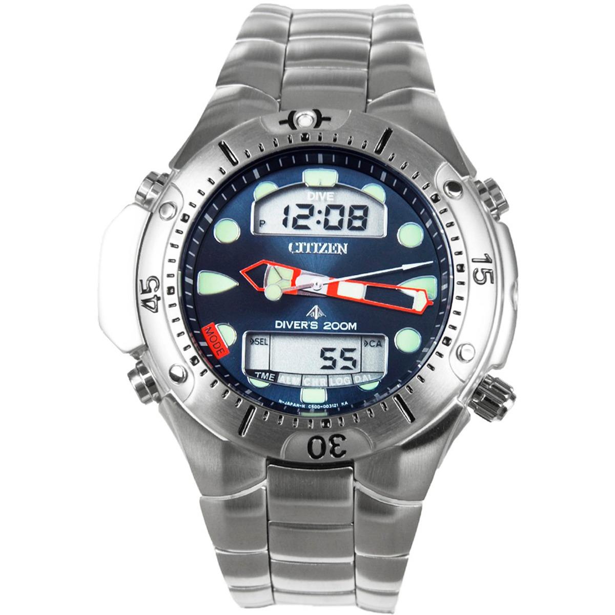 32af2b4282d Relógio Citizen Aqualand Ii - Jp1060-52l - R  1.899