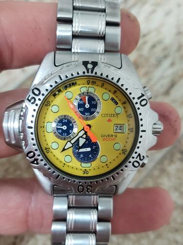 relógio citizen aqualand jp-3740
