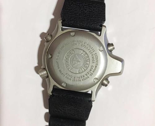 ca98a7c677e Relógio Citizen Aqualand Jp2000-08e   Tz10137t Série Prata - R ...
