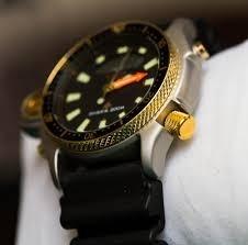 88c6639f2bc Relógio Citizen Aqualand Jp2004-07e Série Ouro - R  1.899