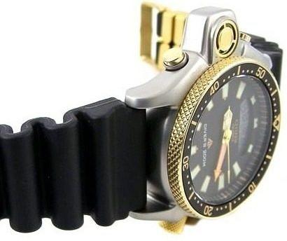 85f7fe85faf Relógio Citizen Aqualand Jp2004-07e Série Ouro Original - R  1.798 ...