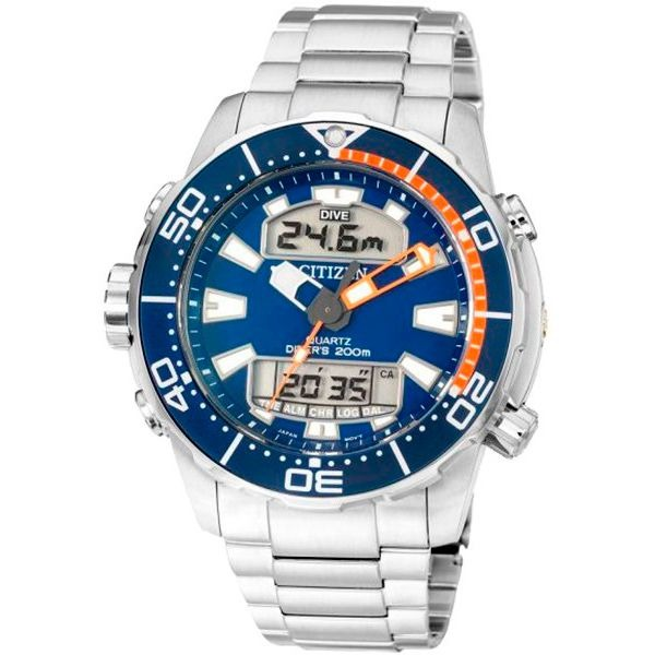 319c25dc87c Relógio Citizen Aqualand Promaster Água Tz10164f Jp1099-81l - R ...