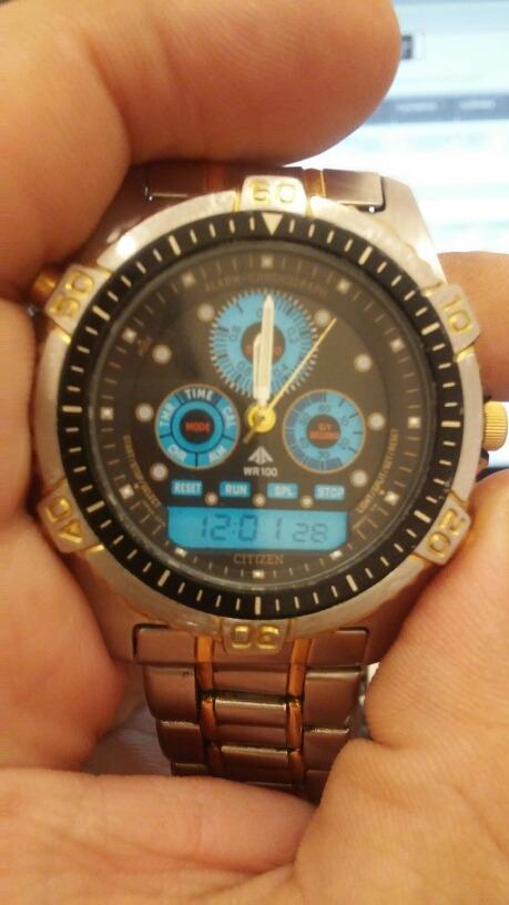 edb37979dc7 Relogio Citizen Aqualand Promaster Combo - R  600