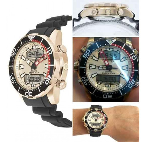 relógio citizen  aqualand promaster jp1093-11p / tz10164x