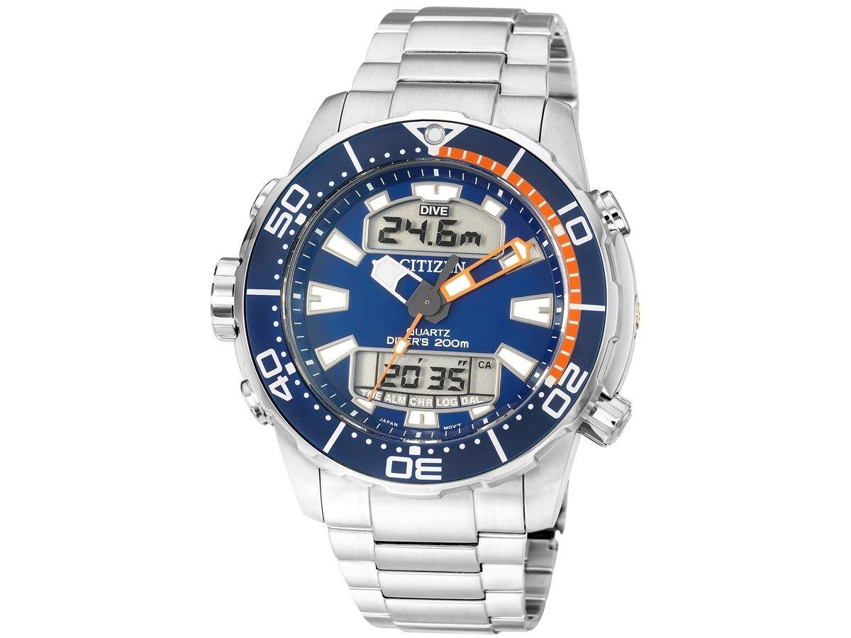 1d41aec3da5 relógio citizen aqualand promaster masculino aço tz10164f. Carregando zoom.